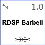 10RDSP Barbell