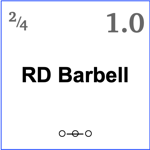8RD Barbell
