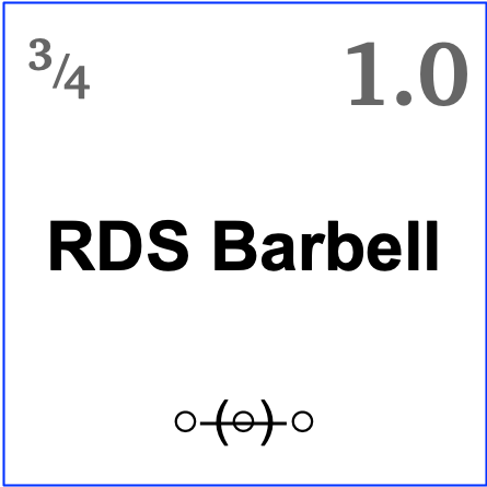 9RDS Barbell